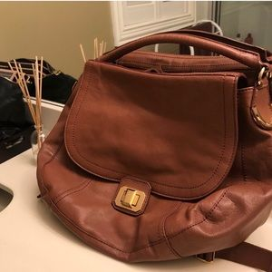 Juicy Couture Brown leather Backpack
